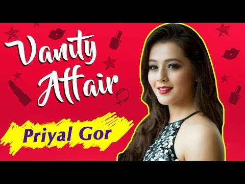Vanity Affair : Priyal Gor aka Ichha Make-Up Room