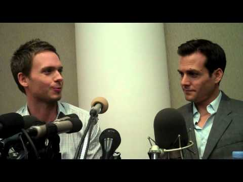Gabriel Macht - 'SUITS' stars GABRIEL MACHT and PATRICK J. ADAMS talk about their relationship to their characters on the show.
