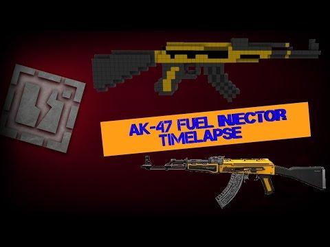 Timelapse : Création de l'AK47 Fuel Injector (CS:GO)