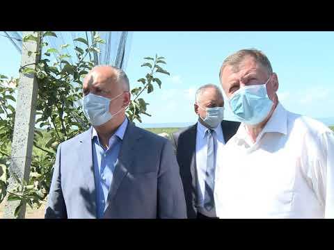 Președintele Republicii Moldova întreprinde o vizită de lucru în raionul Dubăsari