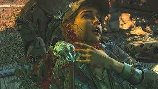 The Walking Dead: The Final Season Demo - All Death Scenes HD