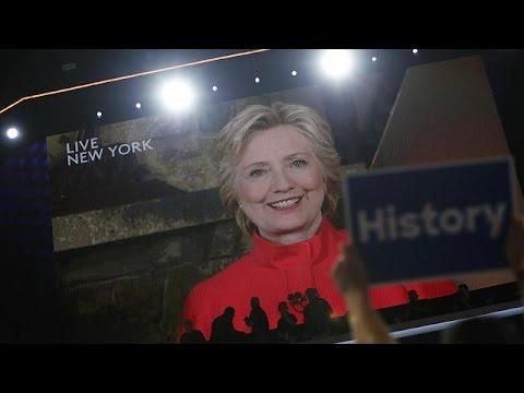 Χίλαρι Κλίντον: Η πρώτη γυναίκα υποψήφια πρόεδρος των ΗΠΑ