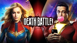 Captain Marvel VS Shazam (Marvel VS DC Comics) | DEATH BATTLE!