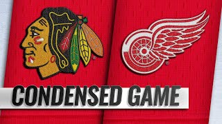 02/20/19 Condensed Game: Blackhawks @ Red Wings by NHL