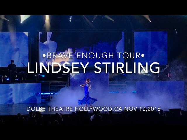 Lindsey Stirling Brave Enough Tour Review