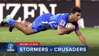 Stormers v Crusaders Rd.14 2019 Super rugby video highlights | Super Rugby Video Highlights