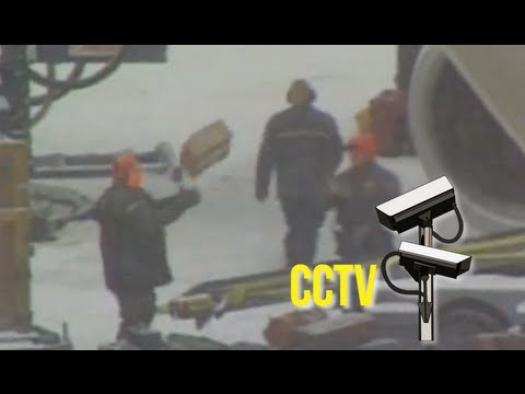 Airport cameras film naughty luggage handlers – secret CCTV footage