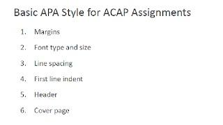 Essays written in apa style