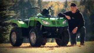 1. 2011 Arctic Cat 350 Test Ride Evaluation