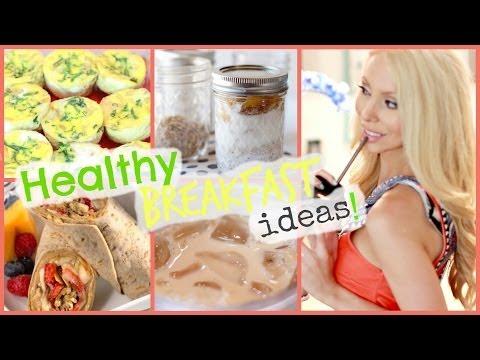 ☀ Healthy Breakfast Ideas! ☀