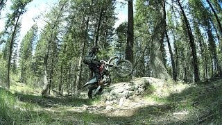 9. Husqvarna TXC250 Enduro Riding - Little Husky 2
