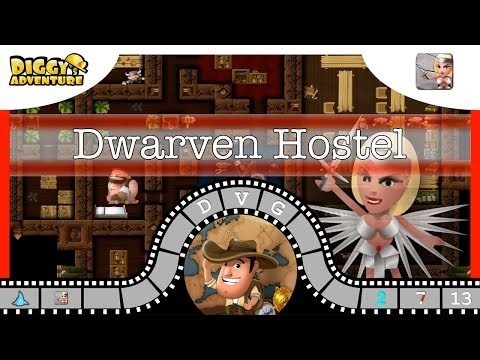 [~freya~] #13 Dwarven Hostel - Diggy's Adventure