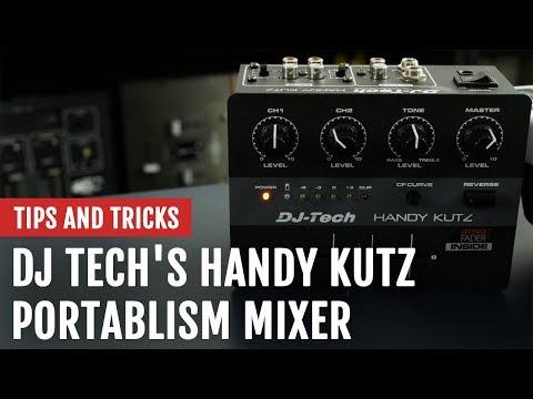 DJ Tech Handy Kutz Portablism Mixer | Review | Tips and Tricks