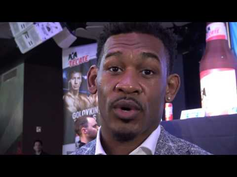 danny jacobs what he saw in the eyes of ggg in faceoff EsNews Boxing (видео)