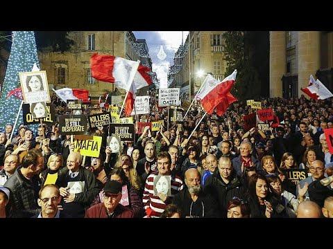 Οι ευρωβουλευτές ζητούν άμεση παραίτηση Μουσκάτ στη Μάλτα…
