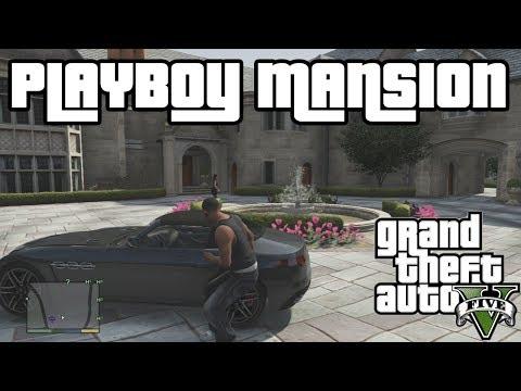 GTA V PLAYBOY MANSION FUN