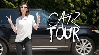 Car Tour || What's in my Range Rover ❤️ by Amanda Steele