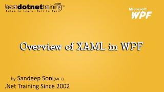 WPF Tutorial: XAML Overview