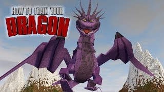 "Minecraft | How To Train Your Dragon Ep 9! ""DRAGONS IN CAGES"""