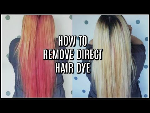 HAIR COLOR REMOVAL  NO BLEACH