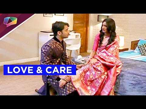Dev takes care of Sonakshi in Kuch Rang Pyaar Ke A