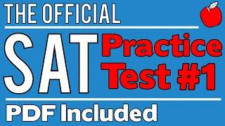 New SAT - Official Test #1 - Math Sect. 3 - Q1-10