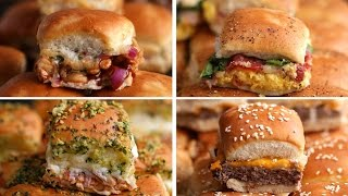 Sliders 4 Ways by Tasty