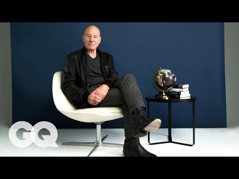 Patrick Stewart Reads Negative Reviews of Famous