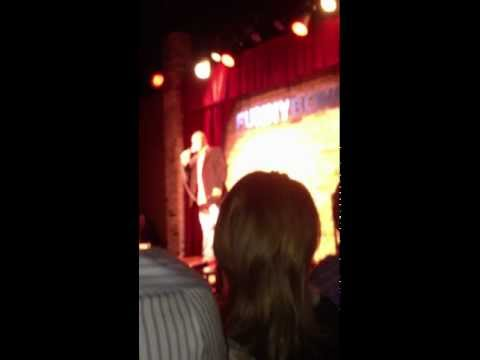 My fist time on stage at the Funny Bone comedy club 3/27/2013