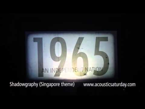 Ooffle - Design & Events - Shadowgraphy SG50 Unique Singapore Celebration Theme Shadow Dance