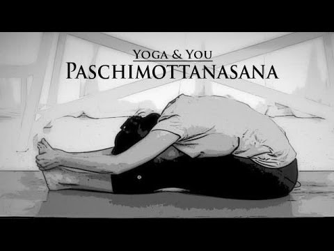 Paschimottanasana or Seated Forward Bend Posture