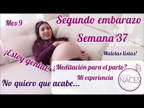 Semana 37 de EMBARAZO| Método NACES ¿Meditación para el parto?| Qué pasa con Ela?