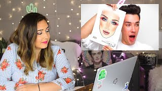 Video Professional Artist Reacts to James Charles Drawing MP3, 3GP, MP4, WEBM, AVI, FLV Agustus 2018