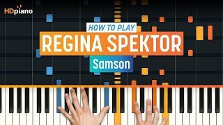 """Samson"" by Regina Spektor | HDpiano (Part 1)"