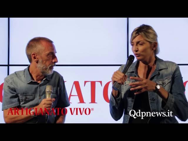 Qdpnews.it - Intervista a Sara Anzanello al QdpPoint di Artigianato Vivo
