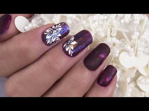 Acrylic nails - Acrylic Herbal de Daniel Zárate // Organic Nails