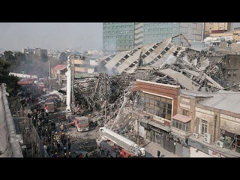 Ιράν: Ανάσυρση νεκρών από το Plasco