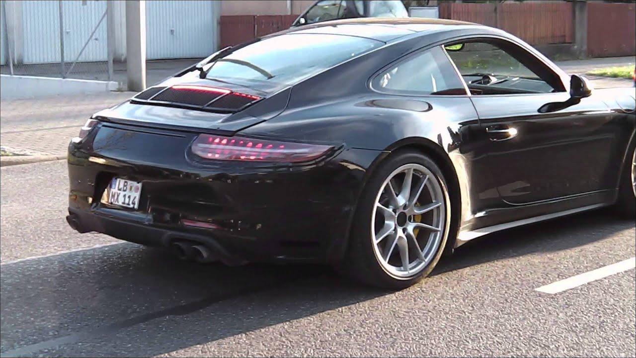 Porsche 911 Nieuwe Details Porsche 911 Facelift Op Een Rij