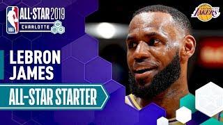Video LeBron James 2019 All-Star Captain   2018-19 NBA Season MP3, 3GP, MP4, WEBM, AVI, FLV Februari 2019