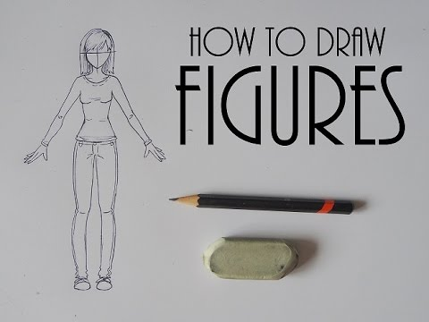 HOW TO DRAW FIGURES // Narrated STEP BY STEP // Female Body