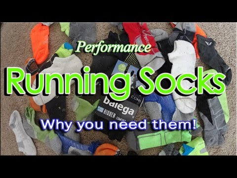 Running Socks Why you need them! - All runners need to watch this!