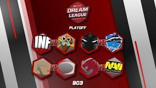 [DOTA 2] Tigers VS Navi (BO3) - Dreamleague Season #10 PlayOff Day 1