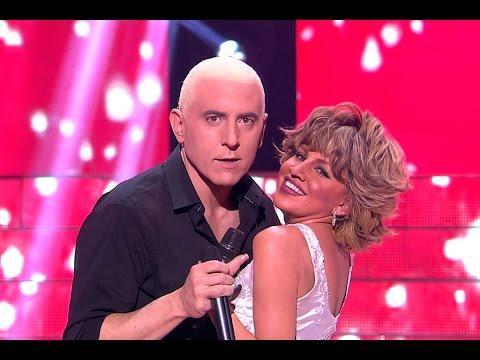 Manel Fuentes y Angy imitan a Eros Ramazzotti y Tina Turner - Tu Cara Me Suena (видео)