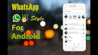 Video WHATSAPP IOS FOR ANDROID 😎😎😎 MP3, 3GP, MP4, WEBM, AVI, FLV Agustus 2018