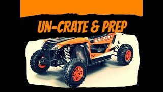 8. Arctic Cat Wildcat Sport XT un-crate and prep 2018 model Textron
