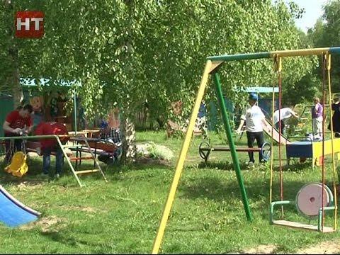 Депутаты думы Великого Новгорода посетили детский дом в Деревяницах