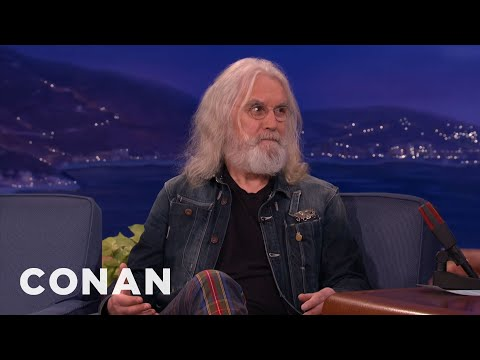 Billy Connolly talks about how he found out that he had Parkinson's Disease with a bit of humor at the end. =)