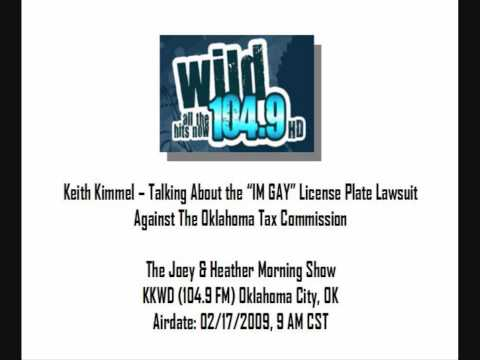Keith Kimmel on The Joey and Heather Morning Show KKWD 104.9 Wild FM