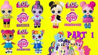Video DIY LOL SURPRISE DOLLS To MLP MAKEOVER Compilation Part 1 Rainbow Dash, Pinkie Pie, Twilight Sparkle MP3, 3GP, MP4, WEBM, AVI, FLV Desember 2018