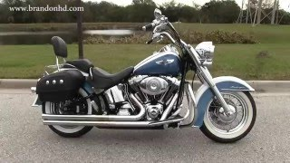 7. 2005 Harley Davidson Softail Deluxe for sale in Saint Petersburg FL